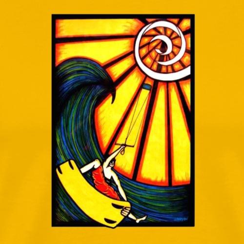 Kite into the sun - Men's Premium T-Shirt