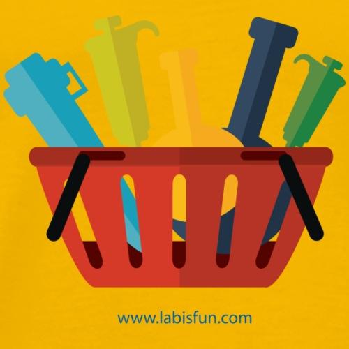 Lab Basket - Men's Premium T-Shirt