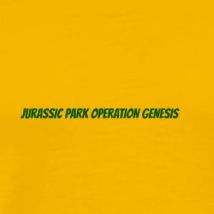 JURASSIC PARK OPERATION GENESIS - Men's Premium T-Shirt