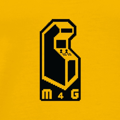 M4G All Black - Men's Premium T-Shirt
