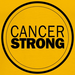 Cancer Strong Logo - Men's Premium T-Shirt
