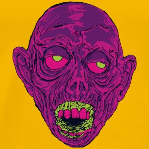 Graveyard Ghoul Ghastly Grape - Men's Premium T-Shirt