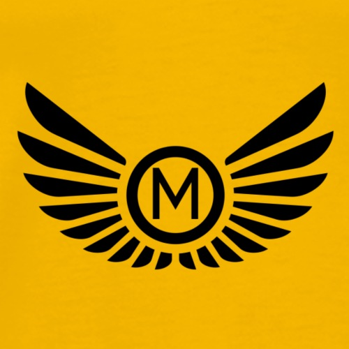 Mankeff Black Logo - Men's Premium T-Shirt