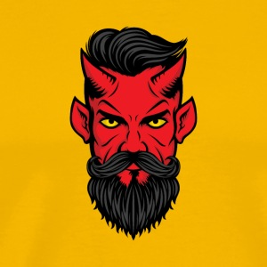 devil demon fiend deuce bogy - Men's Premium T-Shirt
