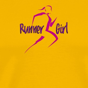 Runner Girl - Men's Premium T-Shirt