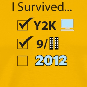 I Survived 2012 - Men's Premium T-Shirt