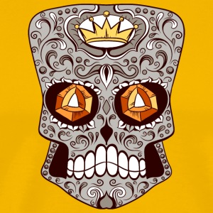 skull_with_diamond_eyes - Men's Premium T-Shirt