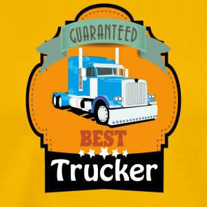 Best Trucker - Men's Premium T-Shirt