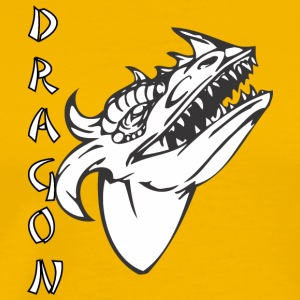 dragon_with_few_horns - Men's Premium T-Shirt