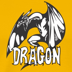 angry_dragon_2 - Men's Premium T-Shirt