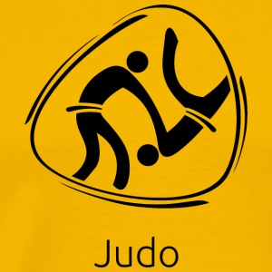 Judo_black - Men's Premium T-Shirt