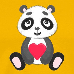 Sweetheart Panda - Men's Premium T-Shirt