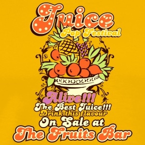 Juice top festival - Men's Premium T-Shirt