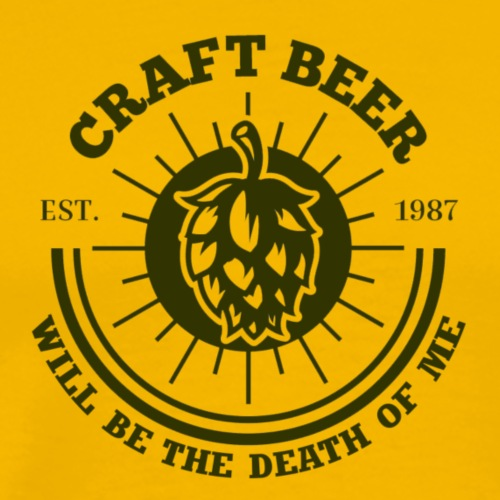 Beer will be the death of me.... - Men's Premium T-Shirt