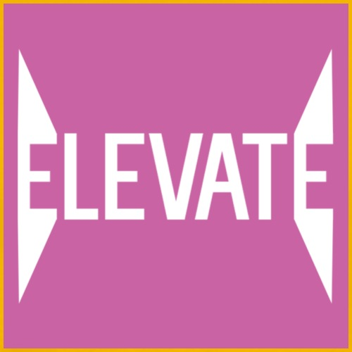 MOYER. - ELEVATE // SPIKED PINK. - Men's Premium T-Shirt