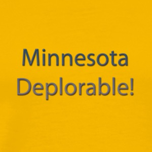 Minnesota-Deplorable - Men's Premium T-Shirt