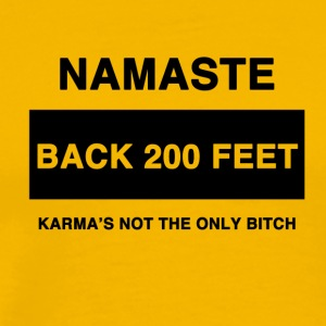 Namaste Back! - Men's Premium T-Shirt