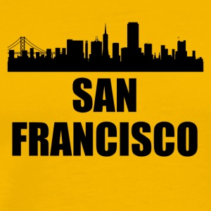 San Francisco CA Skyline - Men's Premium T-Shirt