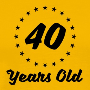 40 Years Old - Men's Premium T-Shirt