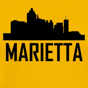 Marietta Georgia City Skyline - Men's Premium T-Shirt