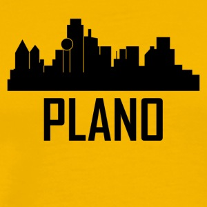 Plano Texas City Skyline - Men's Premium T-Shirt