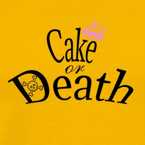 Cake or Death - Men's Premium T-Shirt