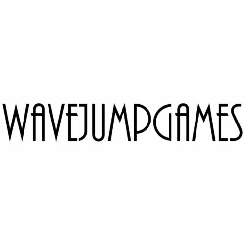 WavejumpGames (Black Text) - Men's Premium T-Shirt