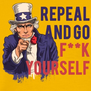 Repeal and go f yourself - Men's Premium T-Shirt
