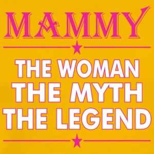 Mammy The Woman The Myth The Legend - Men's Premium T-Shirt