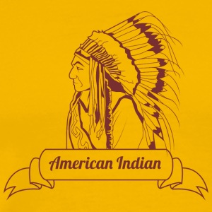american_indian - Men's Premium T-Shirt