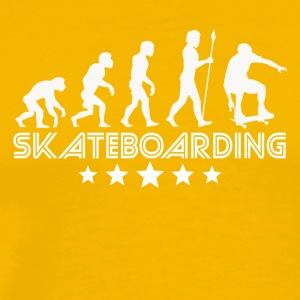 Retro Skateboarding Evolution - Men's Premium T-Shirt