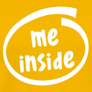 me inside (1822B) - Men's Premium T-Shirt