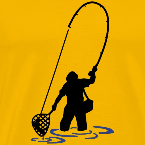 Fish Hunter - Men's Premium T-Shirt