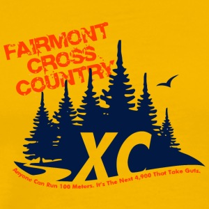 FAIRMONT CROSS COUNTRY - Men's Premium T-Shirt