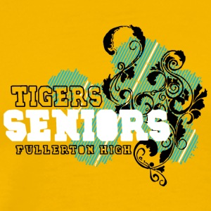 TIGERS SENIORS FULLERTON HIGH - Men's Premium T-Shirt