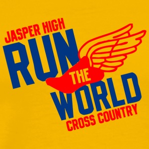 Jasper High Run The World Cross Country - Men's Premium T-Shirt