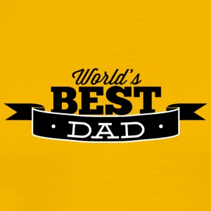 world_best_dad_black - Men's Premium T-Shirt