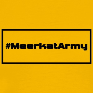 #MeerkatArmy plain - Men's Premium T-Shirt