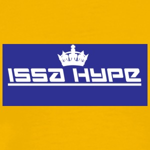 issahype_blue - Men's Premium T-Shirt