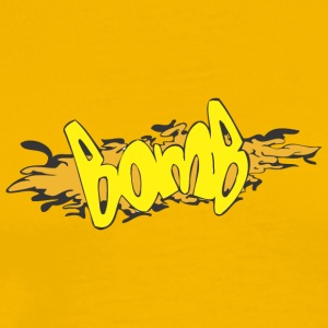 bomb_graffiti - Men's Premium T-Shirt