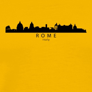 Rome Italy Skyline - Men's Premium T-Shirt