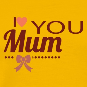 i_love_you_mom - Men's Premium T-Shirt