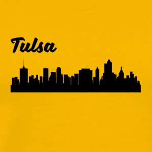 Tulsa OK Skyline - Men's Premium T-Shirt