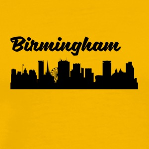 Birmingham Skyline - Men's Premium T-Shirt