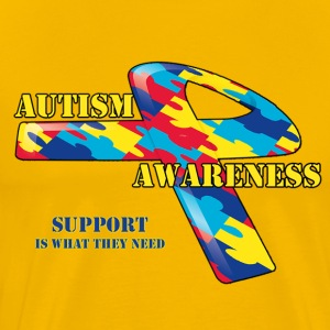 Austim (SUPPORT) - Men's Premium T-Shirt