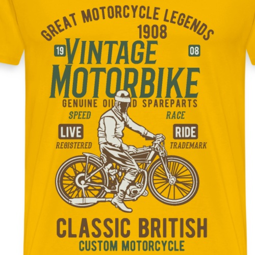 Great Motocycle Legends - Men's Premium T-Shirt