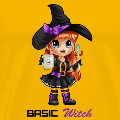 Basic Witch - Men's Premium T-Shirt