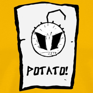 Happy Noodle Boy. potato! - Men's Premium T-Shirt