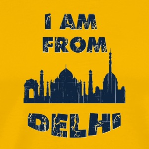 DELHI I am from - Men's Premium T-Shirt
