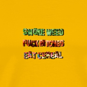 Smoke Fuck Eat - Men's Premium T-Shirt